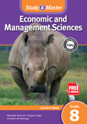 Study & Master Economic and Management Sciences Learner's Book Grade 8 Learner's Book