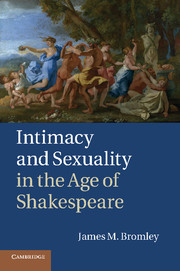 Intimacy and Sexuality in the Age of Shakespeare