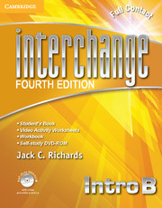 Interchange Intro Full Contact B with Self-study DVD-ROM