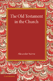 The Old Testament in the Church