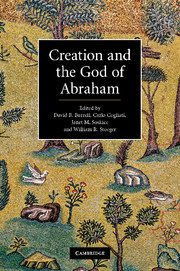 Creation and the God of Abraham