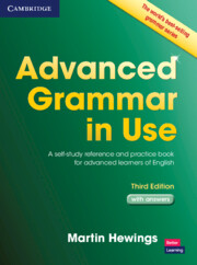 Advanced Grammar in Use 3rd Edition