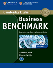 Business Benchmark 2nd Edition