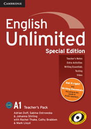 English Unlimited Starter Teacher's Book Special Edition