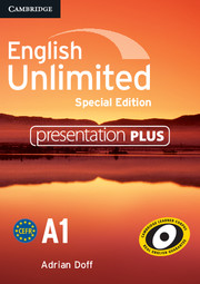 English Unlimited Starter Presentation Plus DVD-ROM Special Edition