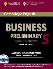 Cambridge English Business 5 Preliminary