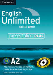 English Unlimited Elementary Presentation Plus DVD-ROM Special Edition