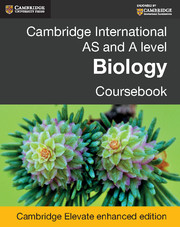 Cambridge International AS and A Level Biology Coursebook Cambridge Elevate Enhanced Edition (2 Years)