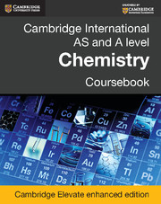 Cambridge International AS and A Level Chemistry Coursebook Cambridge Elevate Enhanced Edition (2 Years)