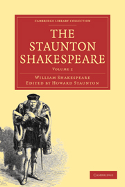 The Staunton Shakespeare