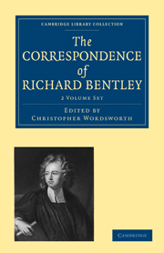 The Correspondence of Richard Bentley