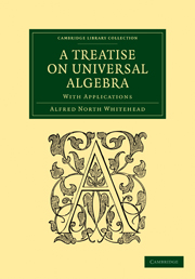 A Treatise on Universal Algebra