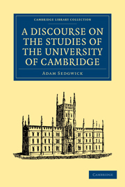 A Discourse on the Studies of the University of Cambridge