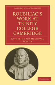 Roubiliac's Work at Trinity College Cambridge