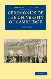 Ceremonies of the University of Cambridge