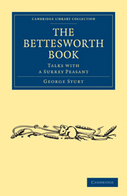 The Bettesworth Book