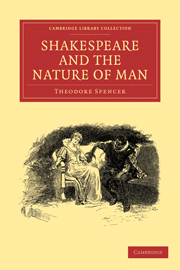Shakespeare and the Nature of Man