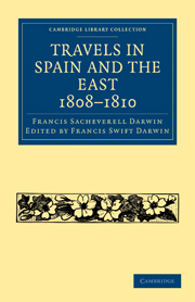Travels in Spain and the East, 1808–1810