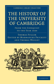 The History of the University of Cambridge