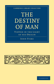 The Destiny of Man