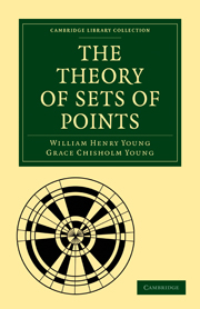 The Theory of Sets of Points
