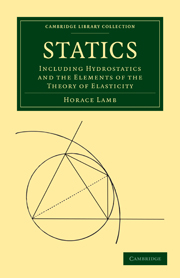 Statics by Horace Lamb