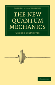 The New Quantum Mechanics