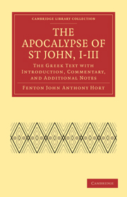 The Apocalypse of St John, I–III