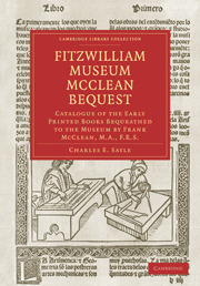 Fitzwilliam Museum McClean Bequest