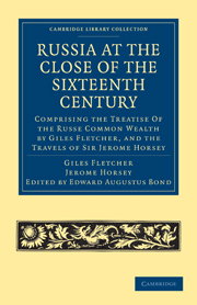 Russia at the Close of the Sixteenth Century
