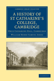 A History of St Catharine's College, Cambridge