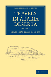 Travels in Arabia Deserta