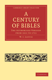 A Century of Bibles