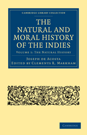 The Natural and Moral History of the Indies