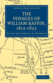 Voyages of William Baffin, 1612–1622