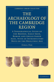 The Archaeology of the Cambridge Region
