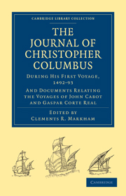 Journal Of Christopher Columbus During His First Voyage 1492 93
