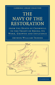 The Navy of the Restoration from the Death of Cromwell to the Treaty of Breda