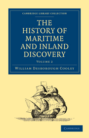 The History of Maritime and Inland Discovery