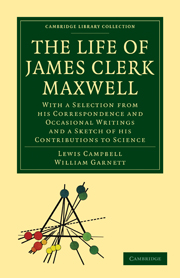The Life of James Clerk Maxwell