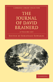 The Diary and Journal of David Brainerd