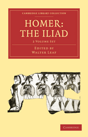 Homer, the Iliad
