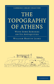 The Topography of Athens