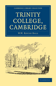 Trinity college cambridge | British history after 1450
