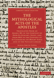 The Mythological Acts of the Apostles