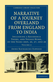 Narrative of a Journey Overland from England, by the Continent of Europe, Egypt, and the Red Sea, to India