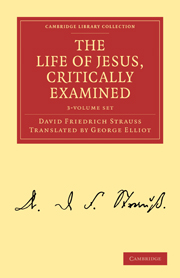 The Life of Jesus, Critically Examined
