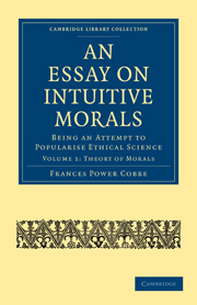 An Essay on Intuitive Morals