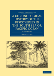 A Chronological History of the Discoveries in the South Sea or Pacific Ocean