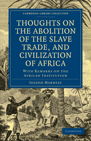 Thoughts on the Abolition of the Slave Trade, and Civilization of Africa